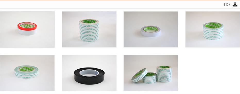 Hai mặt: Băng keo hai mặt được làm bằng chất liệu polyester.
